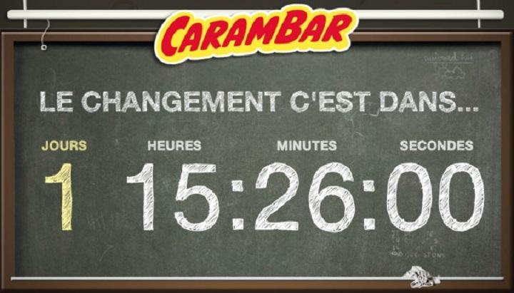 En 2013, Carambar avait buzzé en mettant en place un compte à rebours sur son site web