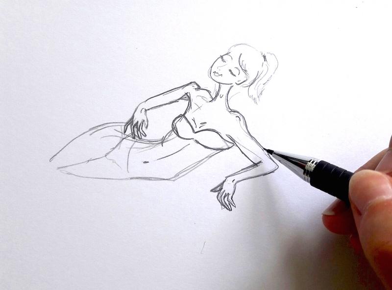 Illustratrice Mode Beauté Paris