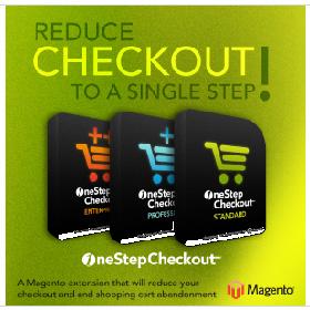 One Step Checkout : module Magento pour réduire le checkout / la première commande / le premier achat à une seule étape