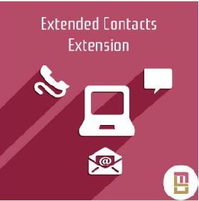 Extended Contacts Extension : module Magento pour créer des formulaires de contact élaborés