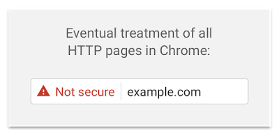 Alerte HTTP Google Chrome