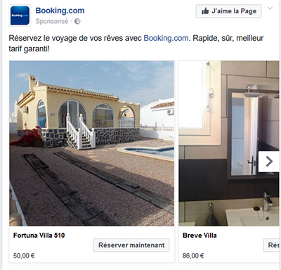 Facebook Ads multi images
