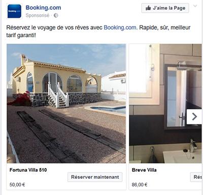 Facebook Ads multi images