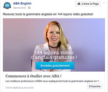 Annonce Facebook Ads gratuit