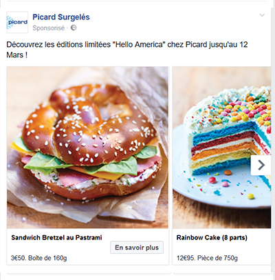 Multi images Facebook Ads