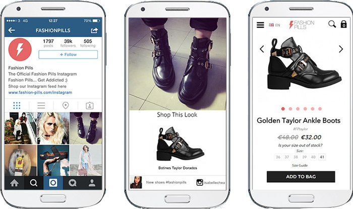 Shoppable Instagram Photoslurp