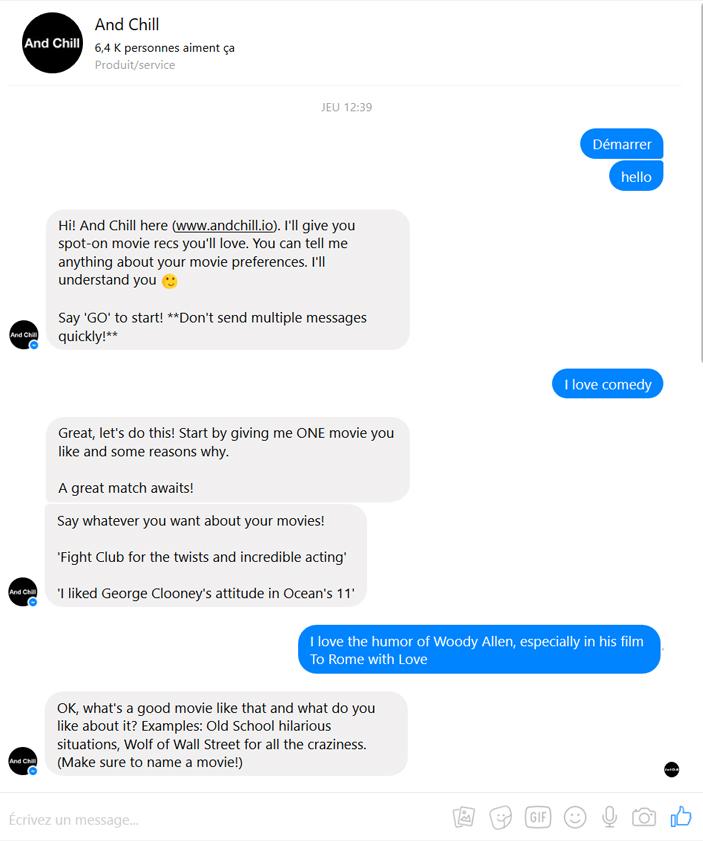 Chatbot netflix