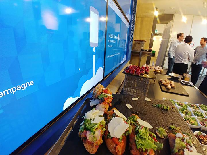 Locaux Google buffet