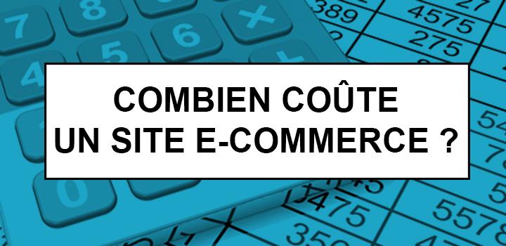 Combien coûte site e-commerce