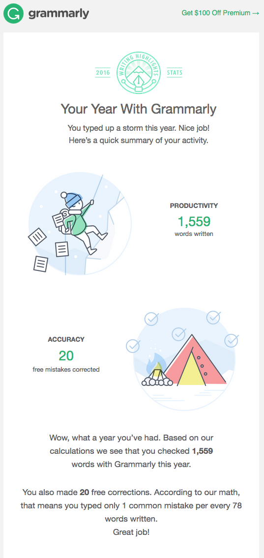 Exemple email contenu dynamique