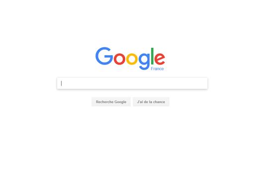 Webdesign blanc Google