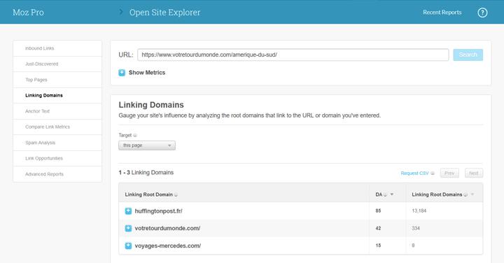 Backlink Open Site Explorer