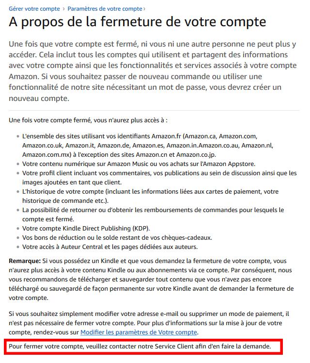 RGPD conformité Amazon
