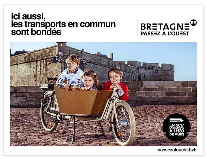 campagne publicitaire tourisme Bretagne