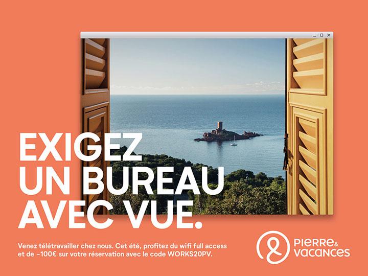 campagne publicitaire tourisme pierre et vacances