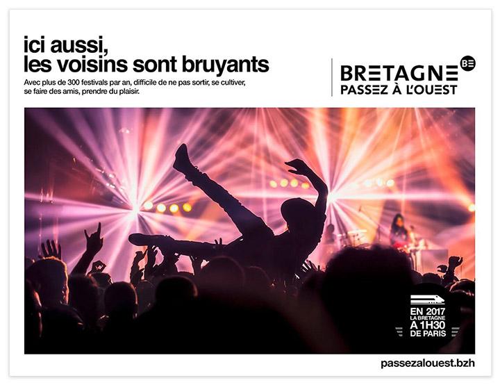 publicité tourisme Bretagne