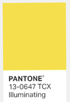 Illuminating couleur annee 2021