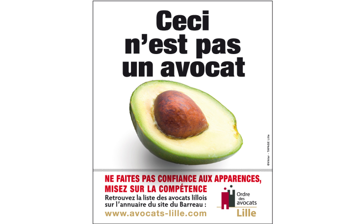 campagne affichage avocats lille