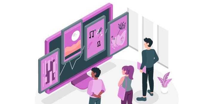 Les chiffres clés du secteur de la culture en 2020