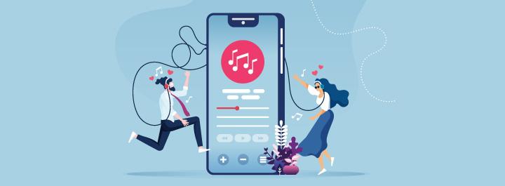 Culture musique plateforme internet