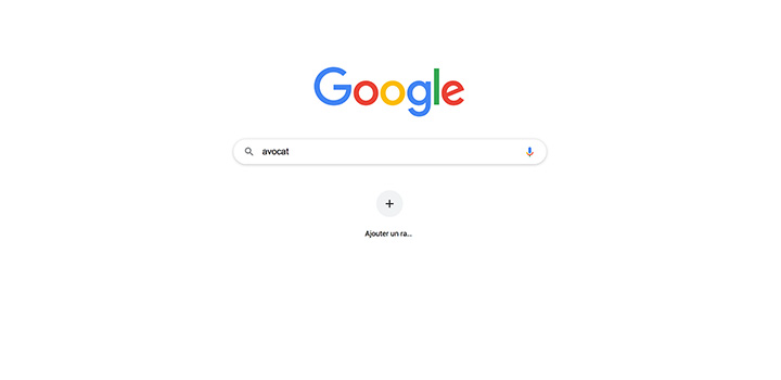 top recherches avocats sur google france