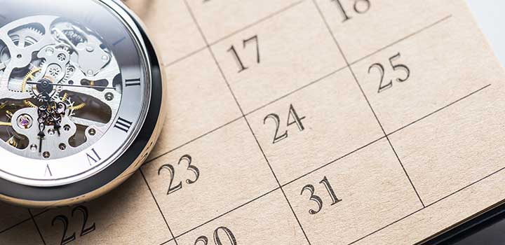 calendrier marketing horlogerie