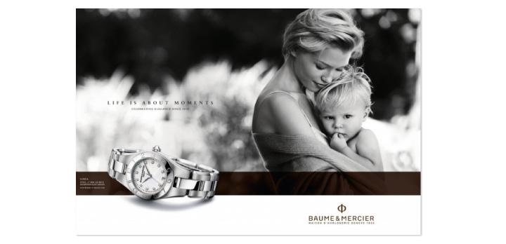 Publicité Baume & Mercier