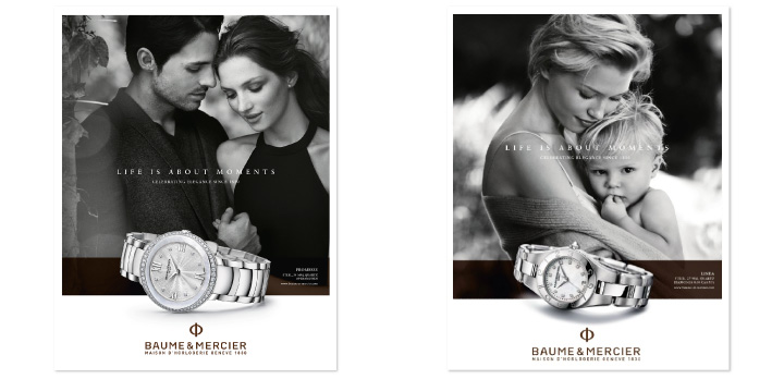 Publicite Baume & Mercier