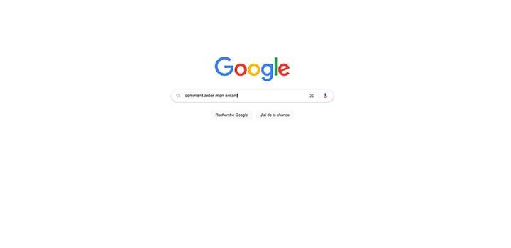 Les tendances des recherches des parents sur Google