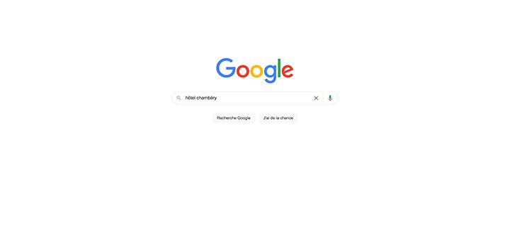 Tendances des recherches hôtellerie sur Google en 2021