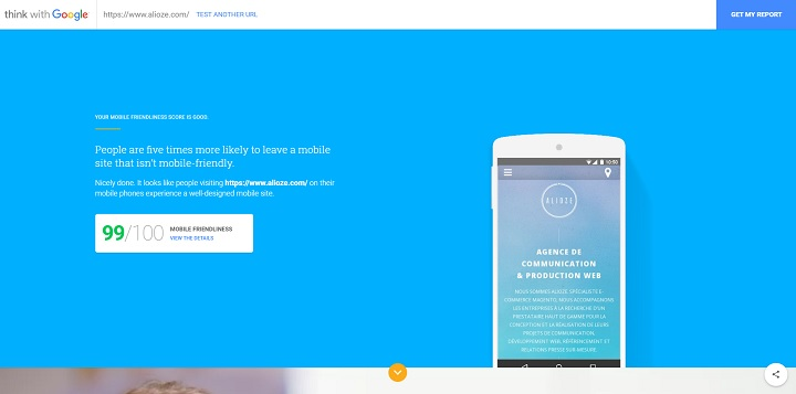 Is your site mobile-friendly? 10 seconds to find out